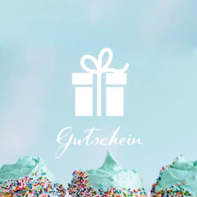 Geschenkgutschein Cupcakes
