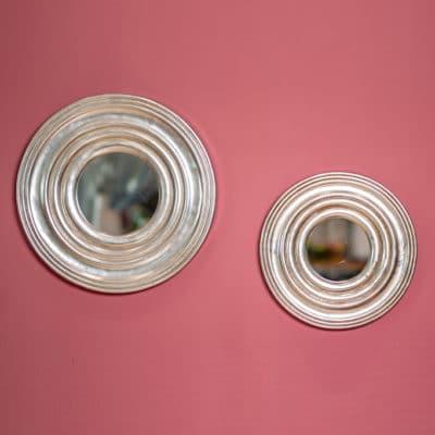 Spiegel Impressions silber
