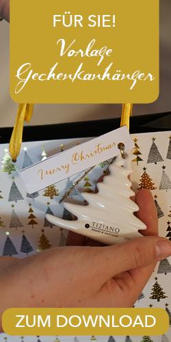 Placeholder Geschenkanhänger Merry Christmas