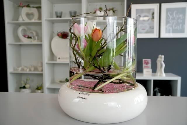 Fruehlingsdeko mit Tulpen DIY Video