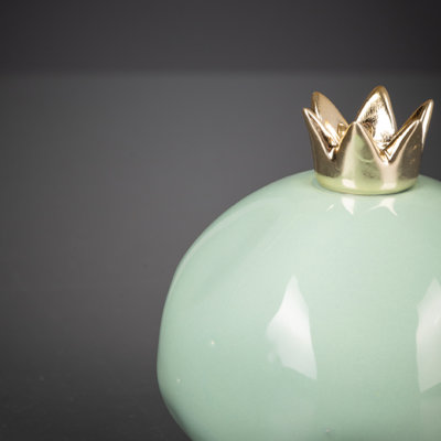 Deko Pomegranate mint/gold
