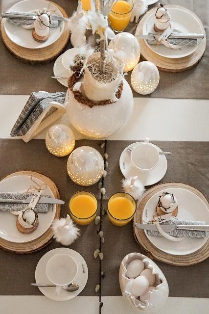 Tischdeko zu Ostern_Tisch perfekt decken