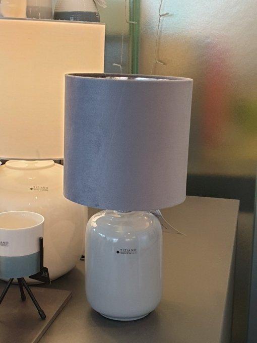 Lampe Catalina grau