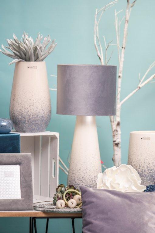 Milinari Lampe und Vase