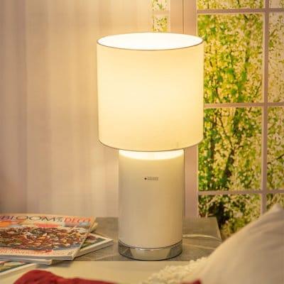 Lampe Aurelia creme-weiß
