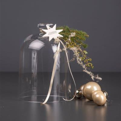 Glasglocke Salvia mit Griff