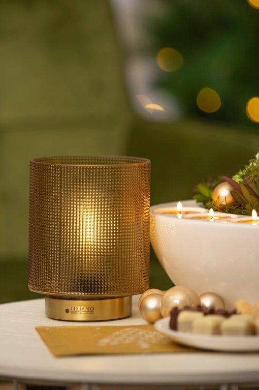 LED Leuchte Lumida gold