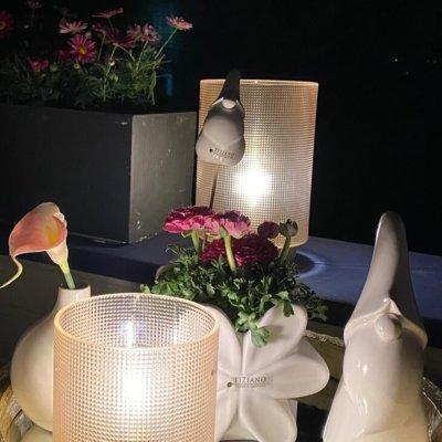 LED Leuchte Lumida india rose