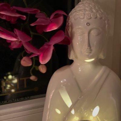 Dekoset Dekofigur Shiva mit Kristall und Kugel Padova LED