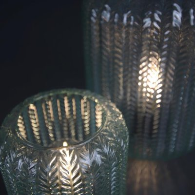 LED - Lampe Bali hellgrün