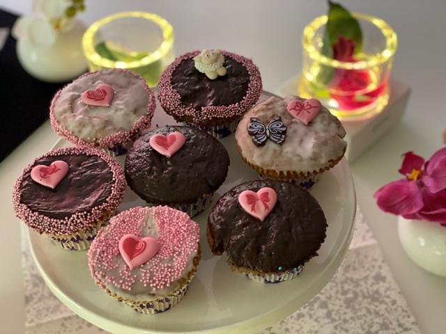 Muffins als Geschenkidee zum Muttertag