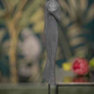 Dekofigur Krono Elisabeth anthrazit
