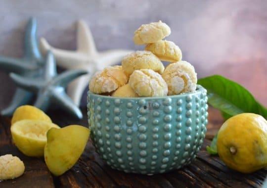 Sommer Rezept Zitronenkekse