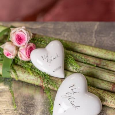 Dekoherz Amore mit Schrift