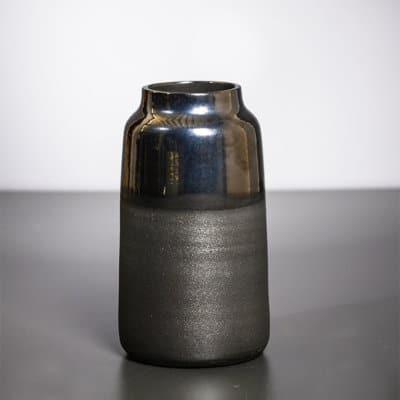 Vase Dallas silber - anthrazit