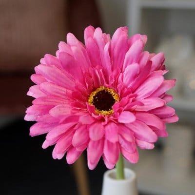 Deko Blume Gerbera rosa