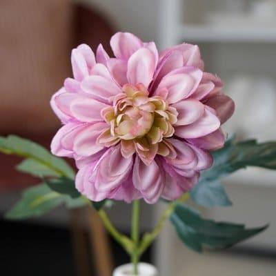 Kunstblume Dahlie hell lila