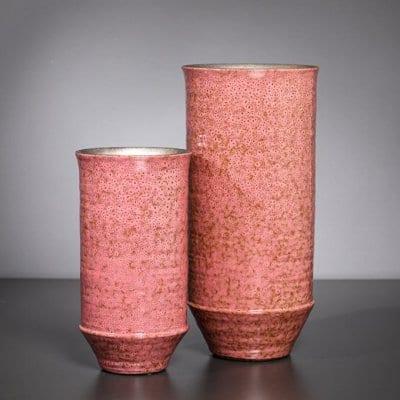 Vase Tower rose rosa