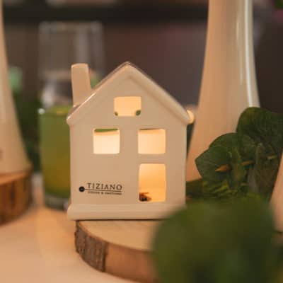 Lichthaus Portofino breit LED weiß-creme