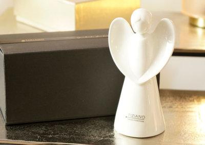 Magnetbox mit Engelfigur