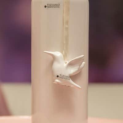 Hänger Kolibri Keona stehend creme - weiß