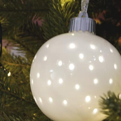 Hänger Padova LED Porzellan creme - weiß