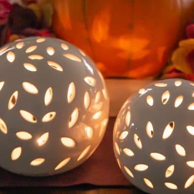 Lichtkugel Villari LED weiß-creme