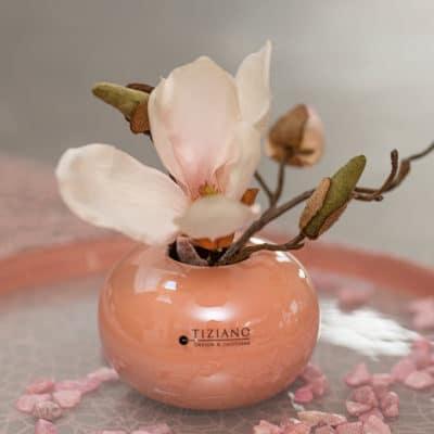 Tischvase Vitara 9cm rund rosa