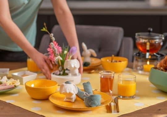 Osterdeko Tischdeko zu Ostern