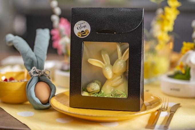 Ostergeschenke Geschenktuete Hasenpaar Lupo