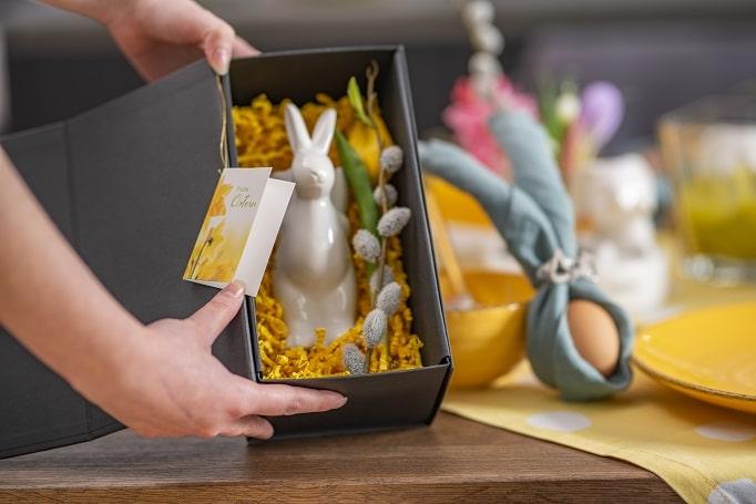 Ostergeschenke Magnetbox mit Hase Gavino