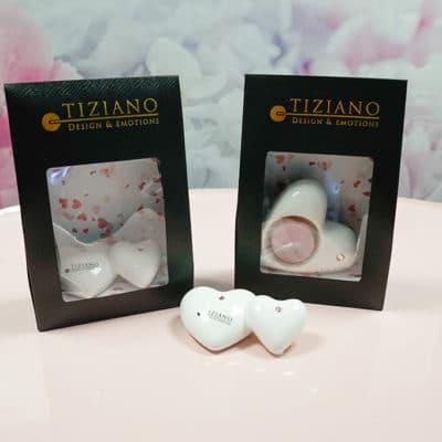 Geschenktüte mit Teelicht Belivina 12cm mit Kristall