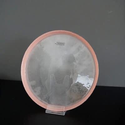 Glasschale Dekoteller Rosewood rosa