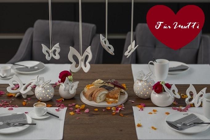 Für Mutti: Ideen für Deine Tischdeko zum Muttertag