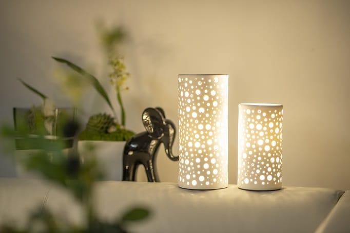 Black and White Lampe Salvati