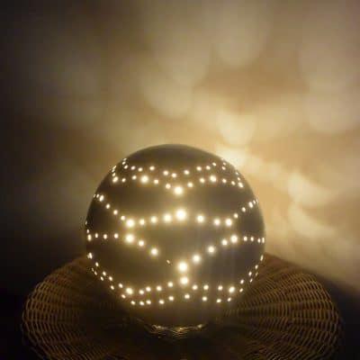 Kugel Lampe Separio leuchtend