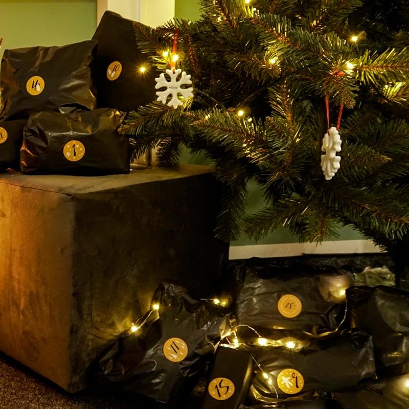 Weihnachtsstimmung Dank dem Adventskalender für Frauen