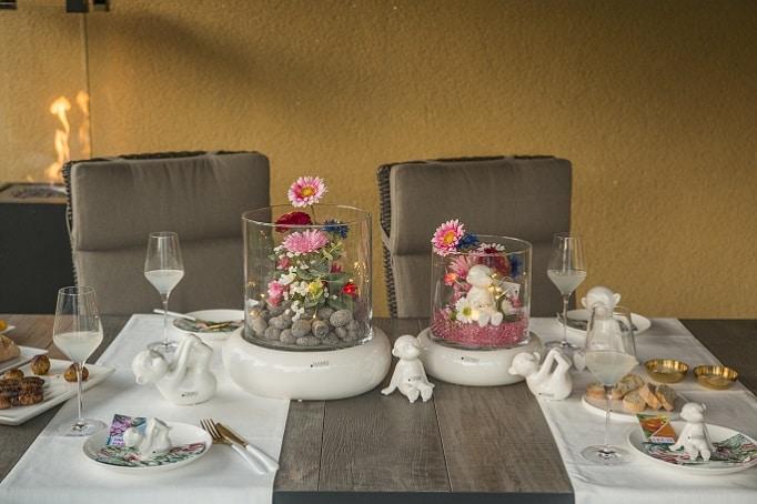 Dekoideen für den Sommer: Tischdeko für den Grillabend