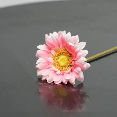 Dekoblume Gerbera pink