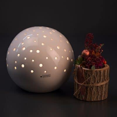Leuchtkugel LED Padova mit Timer