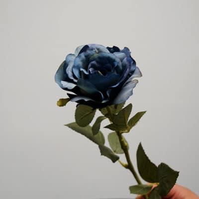Deko Rose blau-lila