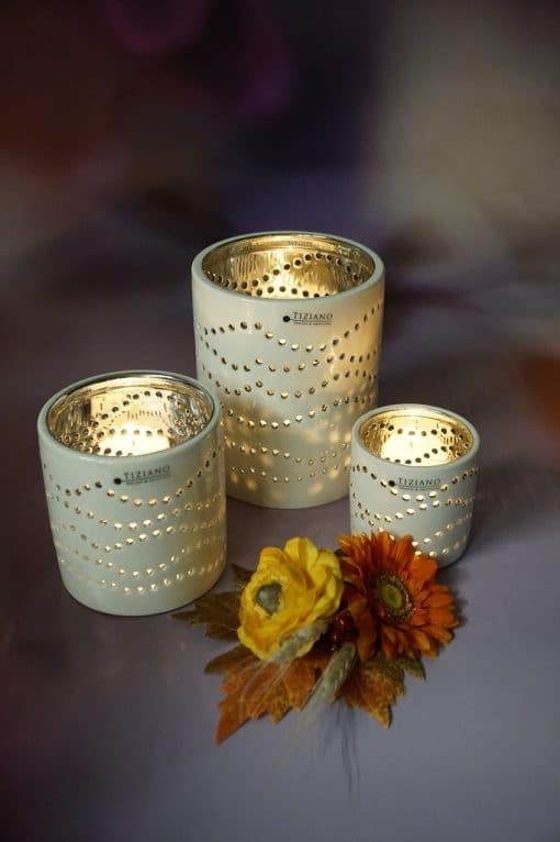 Tischlicht Mazano geschwungen leuchtend