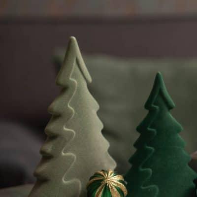 Morio Dekobaum Weihnachtsbaum Samt