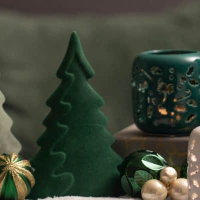 Morio Dekobaum Weihnachtsbaum Samt Grün