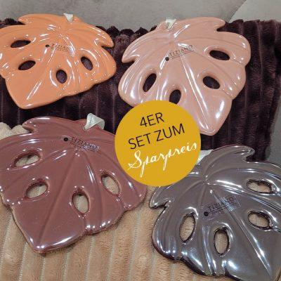4er Set Alseno farbig 12cm