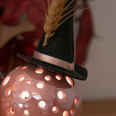Dekoset Kugel Padova LED mit Hexenhut