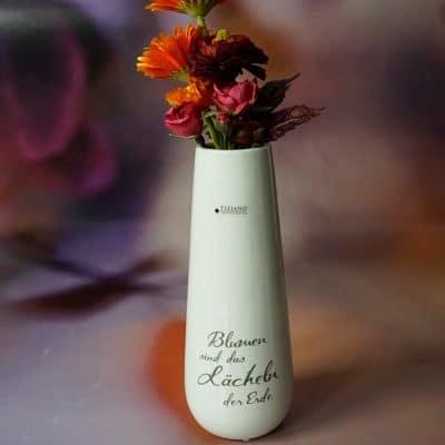 Vase Tantilo mit Decal