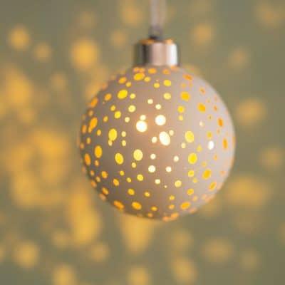 Vorverkauf: Deko Kugel Savo LED Padova 8cm